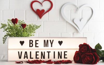 Es liegt Liebe in der Luft, denn es ist bald soweit!  Am 14. Februar ist Valentinstag!