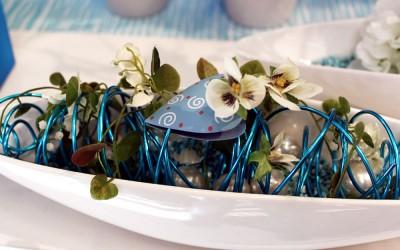 Dekoartikel aus der Frühjahrsaustellung 2012 - Blumengesteck
