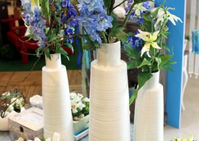 Dekoartikel aus der Frühjahrsaustellung 2012 - Blumenvase