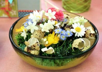 Dekoartikel aus der Frühjahrsaustellung 2012 - Blumen