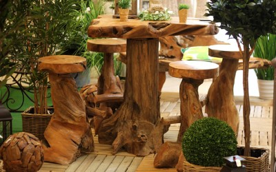 Dekoartikel aus der Frühjahrsaustellung 2013 - Wohnaccessoires aus Holz