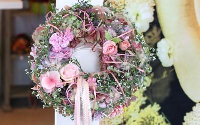 Dekoartikel aus der Frühjahrsaustellung 2013 - Blumengesteck