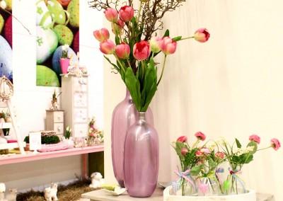 Dekoartikel aus der Frühjahrsaustellung 2014 - Blumenvase