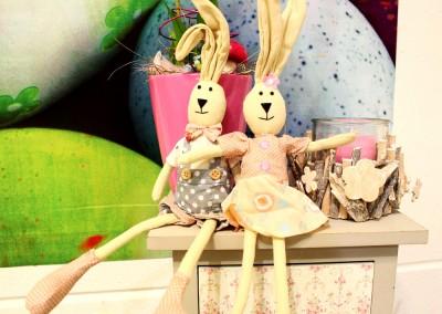 Dekoartikel aus der Frühjahrsaustellung 2014 - Ostern