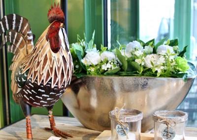 Dekoartikel aus der Frühjahrsaustellung 2014 - Huhn