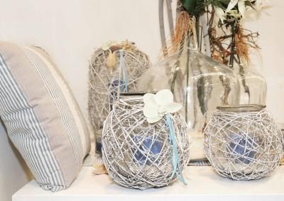 Dekoartikel aus der Home-Maritim-Kollektion der Frühjahr-Sommer Ausstellung 2015 - Windlicht