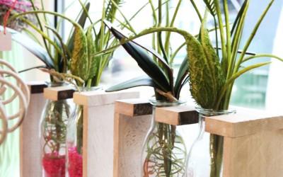 Dekoartikel aus der Green-Pink-Kollektion der Frühjahr-Sommer Ausstellung 2015 - Blumenvase