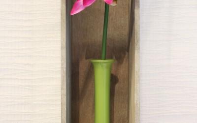 Dekoartikel aus der Green-Pink-Kollektion der Frühjahr-Sommer Ausstellung 2015 - Blume