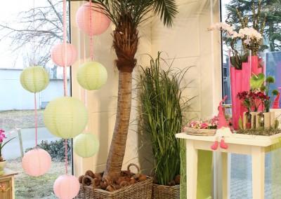 Dekoartikel aus der Green-Pink-Kollektion der Frühjahr-Sommer Ausstellung 2015