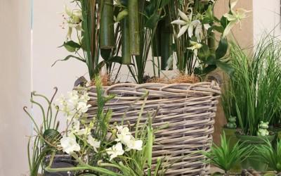 Dekoartikel aus der Green-Pink-Kollektion der Frühjahr-Sommer Ausstellung 2015 - Pflanzen