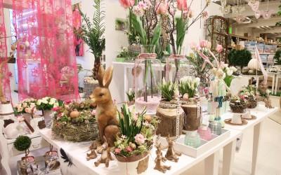 Dekoartikel aus der Ostern-Nostalgie-Kollektion der Frühjahr-Sommer Ausstellung 2015 - Ostern
