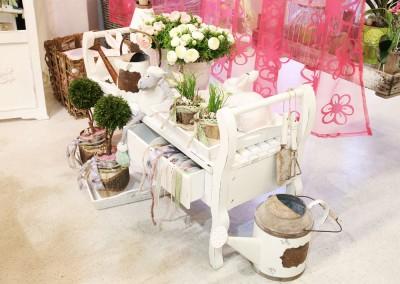 Dekoartikel aus der Ostern-Nostalgie-Kollektion der Frühjahr-Sommer Ausstellung 2015