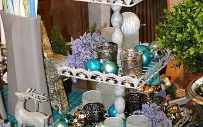 Dekoartikel aus der Weihnachtsaustellung 2012 - Christbaumkugeln