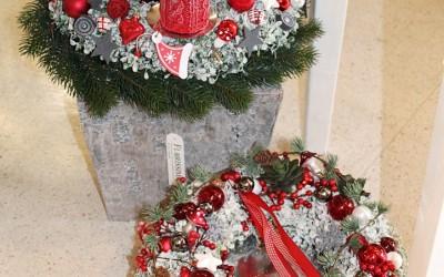 Dekoartikel aus der Weihnachtsaustellung 2012 - Adventskranz