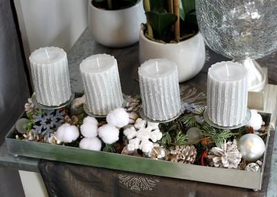 Dekoartikel aus der Weihnachtsaustellung 2012 - Adventskerzen