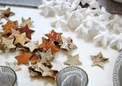 Dekoartikel aus der Weihnachtsaustellung 2013 - Sterne - Streudeko