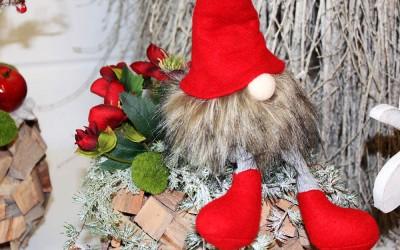 Dekoartikel aus der Weihnachtsaustellung 2013 - Filzwichtel