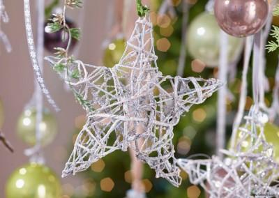 Dekoartikel aus der Weihnachtsaustellung 2014 - Stern