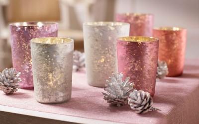 Dekoartikel aus der Weihnachtsaustellung 2014 - Teelichtgläser