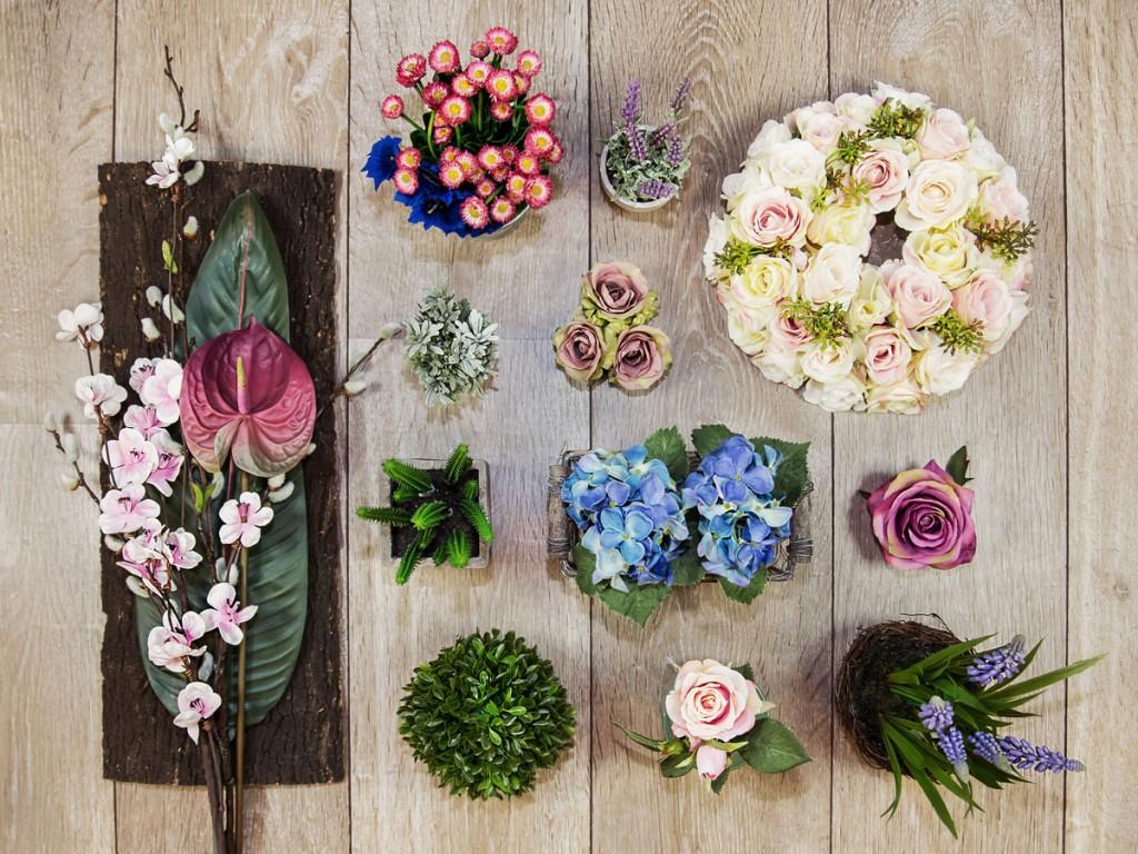 Kunstblumen & Pflanzen