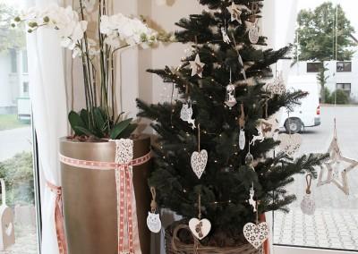 Dekoartikel aus der Kupfer-Kollektion der Weihnachts-Ausstellung 2015 - Tannenbaum - Christbaum