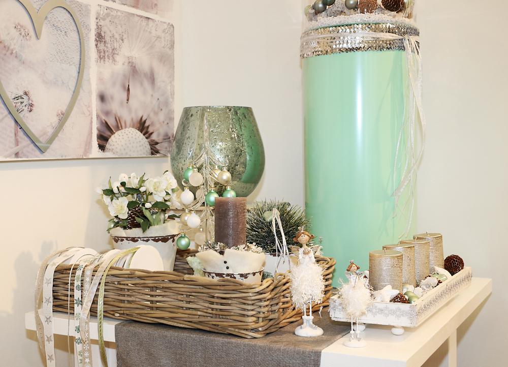 dekoartikel aus der mint kollektion der weihnachts ausstellung 2015 willenborg dekotrends. Black Bedroom Furniture Sets. Home Design Ideas