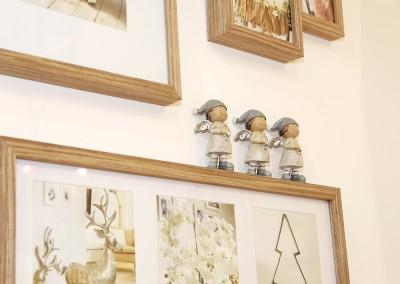 Dekoartikel aus der Natur-Kollektion der Weihnachts-Ausstellung 2015  - Holz - Figur - Engel