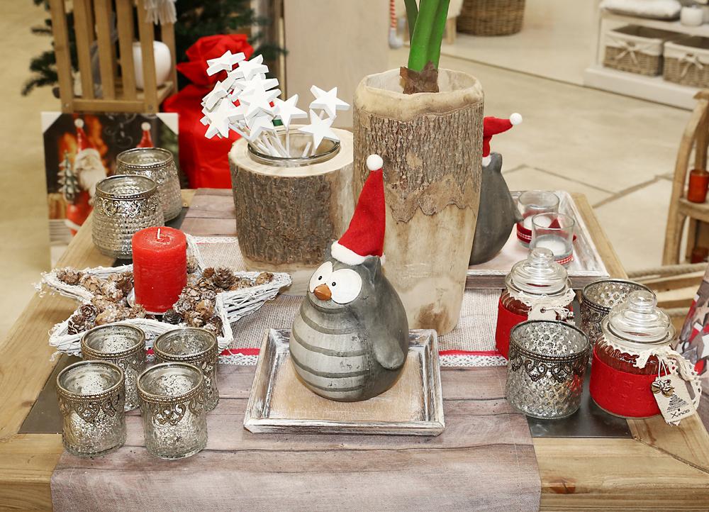 dekoartikel aus der rot wei kollektion der weihnachts ausstellung 2015 teelichtglas eule. Black Bedroom Furniture Sets. Home Design Ideas