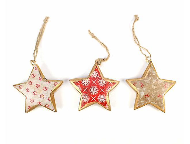 Holz Sternenhänger