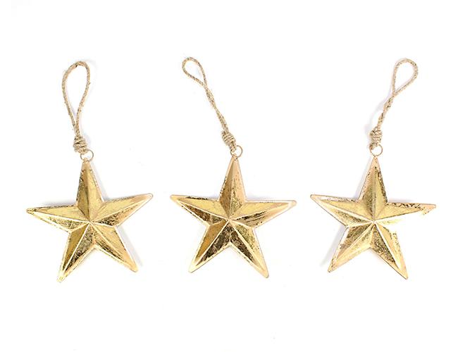 Metall Sternenhänger