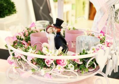 Dekoartikel der Frühlings-Ausstellung 2016 - Etagere - Hochzeitsdeko
