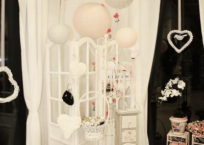 Dekoartikel der Frühlings-Ausstellung 2016 - Romantik - Kollektion - Rose - Weiß