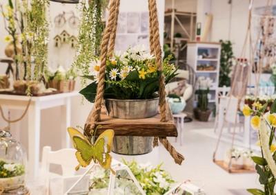 Dekoartikel der Frühlings-Ausstellung 2016 - Grün - Kollektion - Holzhänger