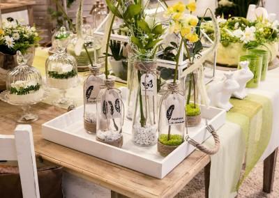 Dekoartikel der Frühlings-Ausstellung 2016 - Grün -Kollektion - Flasche - Glas