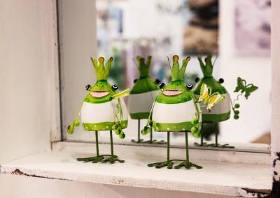Dekoartikel der Frühlings-Ausstellung 2016 - Grün - Kollektion - Metall - Frosch