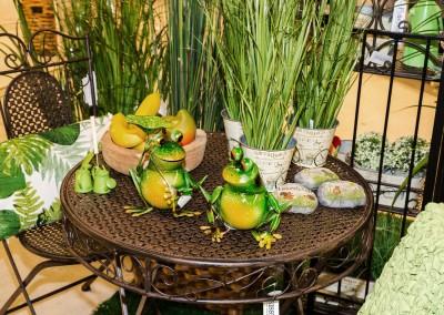 Dekoartikel der Frühlings-Ausstellung 2016 - Grün - Kollektion - Frosch - Garten