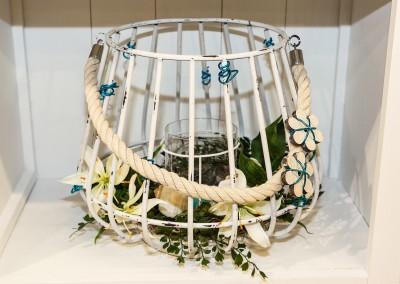 Dekoartikel der Frühlings-Ausstellung 2016 - Maritim - Kollektion - Windlicht - Laterne