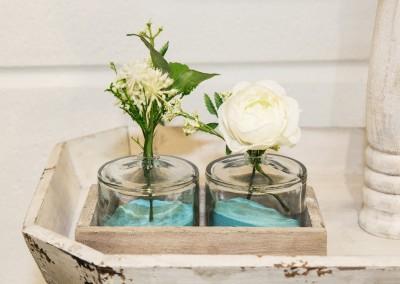 Dekoartikel der Frühlings-Ausstellung 2016 - Maritim - Kollektion - Blume - Glas - Vase
