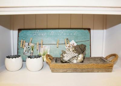 Dekoartikel der Frühlings-Ausstellung 2016 - Maritim - Kollektion - Teelichtglas - Muschel - Perle