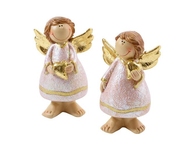 Engel mit Goldflügeln