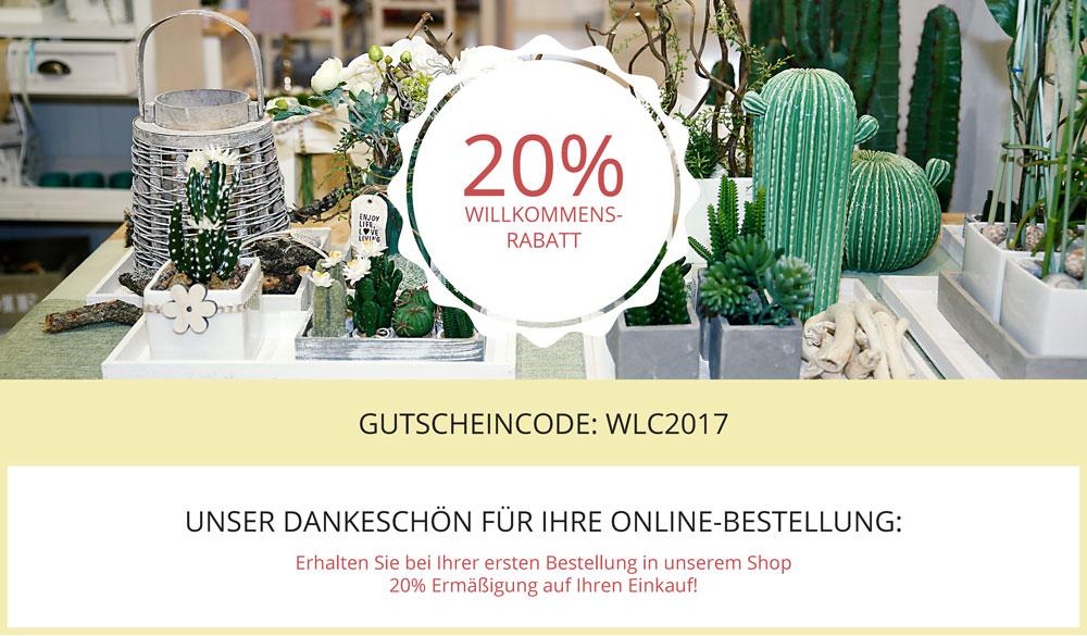 20% Rabattaktion - Neuer Webshop