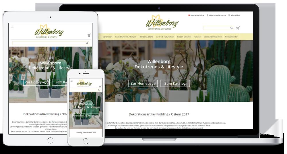 Responsiver neuer Webshop