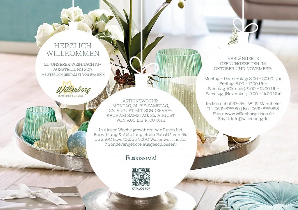 einladung zur winter weihnachtsausstellung 2017 18. Black Bedroom Furniture Sets. Home Design Ideas