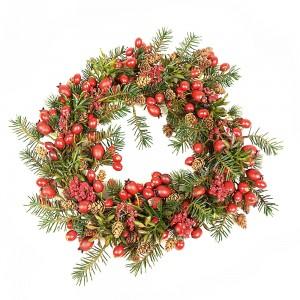 weihnachten-deko-tanne-kranz-beere-willenborg
