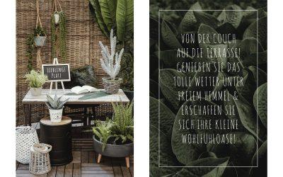 Deko unter freiem Himmel – Happy Gardening!