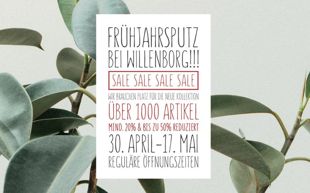 Frühjahrssale bei Willenborg