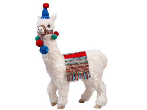 Plüsch-Lama