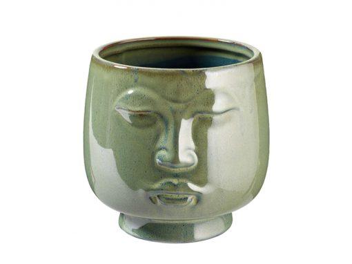 Keramik-Topf ´Buddha`