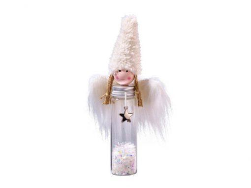 Stoff-Engel mit Glaskörper
