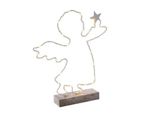 Polyresine-Engel mit LED-Licht
